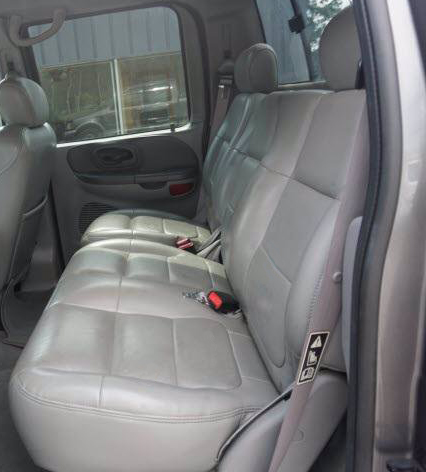 2021+ Ford F150 Rear Seat Covers