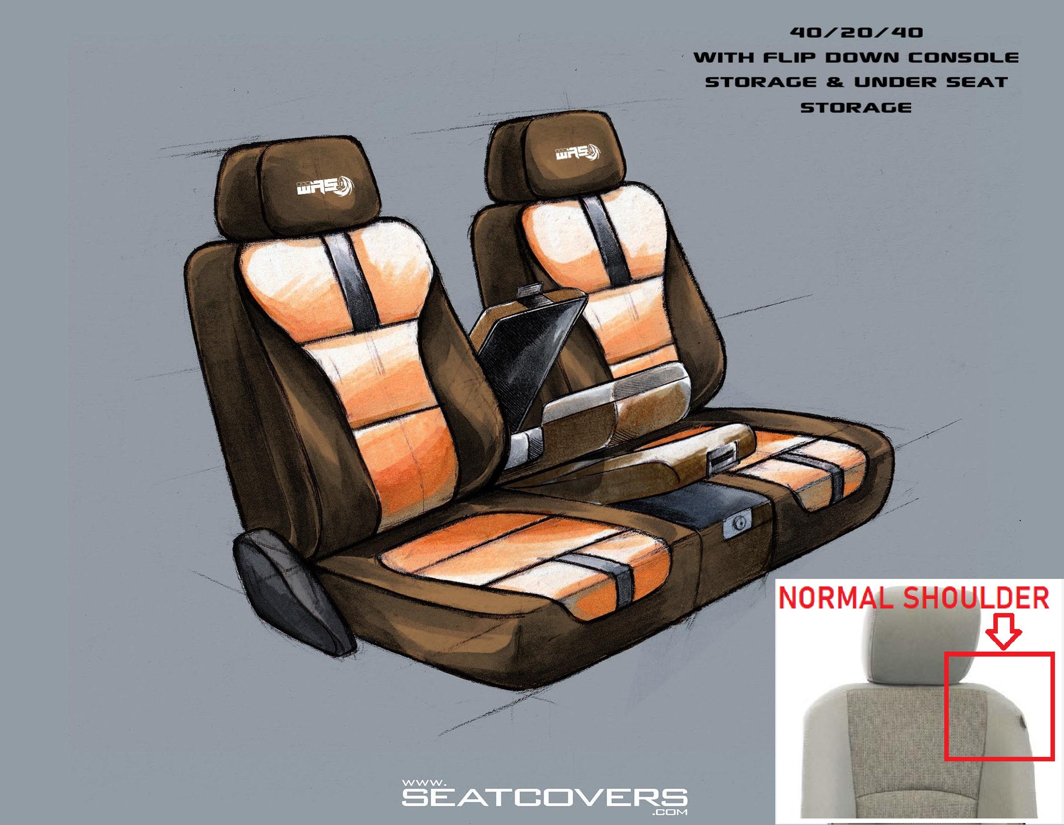 40.20.40 Top and bottome storage (Dodge NORMAL Shoulder) D424-09