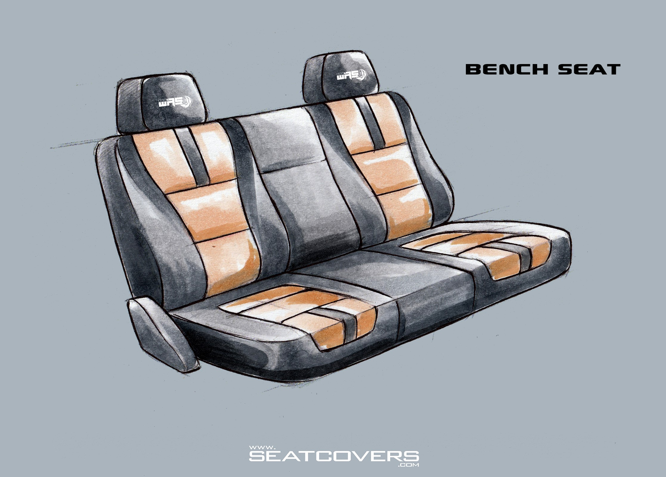 99-00, 03-10 Ford Super duty Front Seat covers super duty seat covers www.seatcovers.com