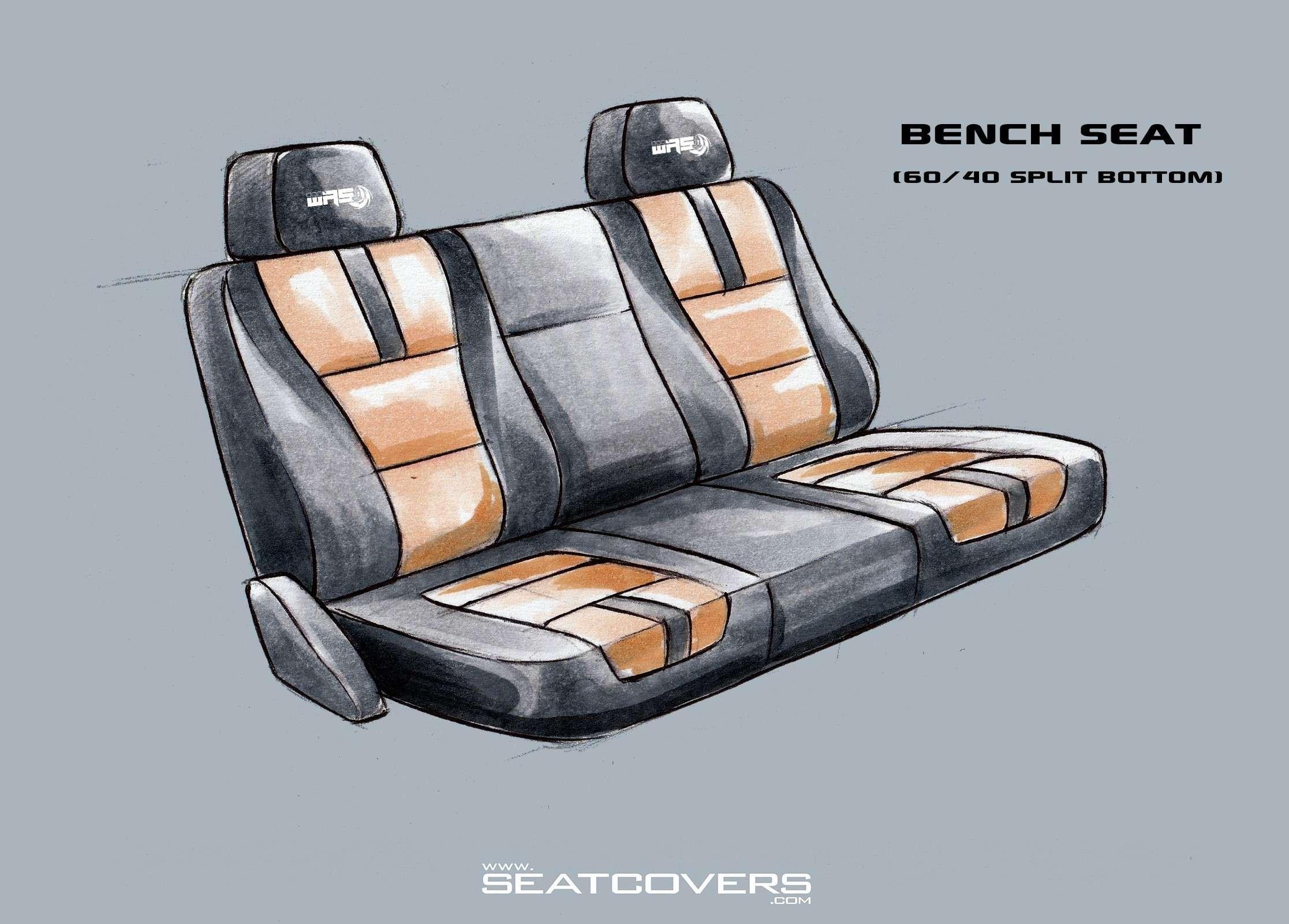 Bench Seat (60.40 Split Bottom)