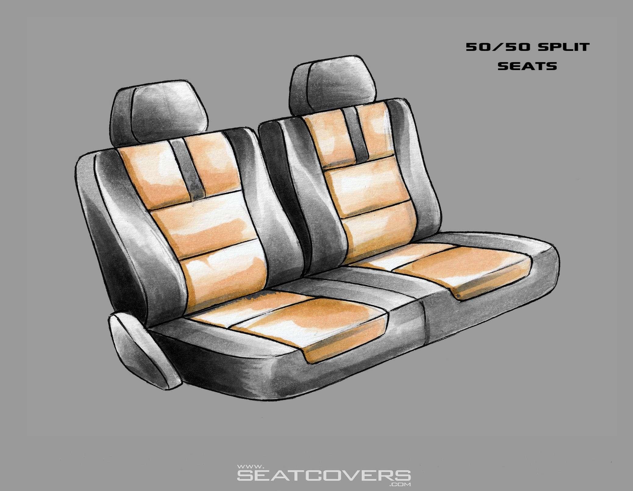 Chevy GMC Tahoe Yukon Suburban rear seat covers Tahoe Yukon Suburban seat covers www.seatcovers.com