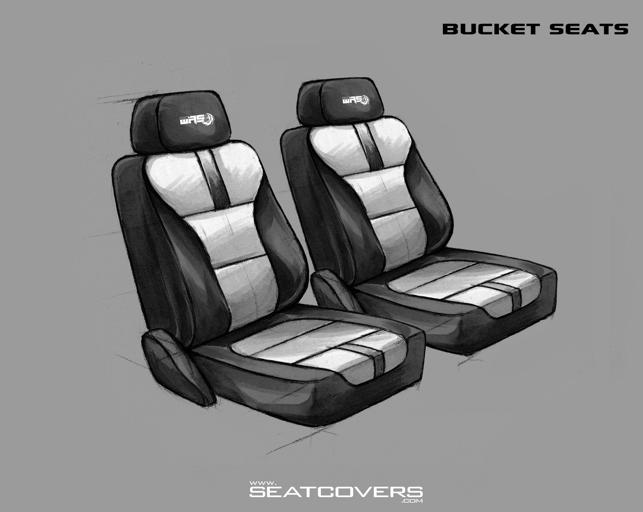 SIERRA SILVERADO, YUKON, TAHOE- Front Seat Covers www.seatcovers.com