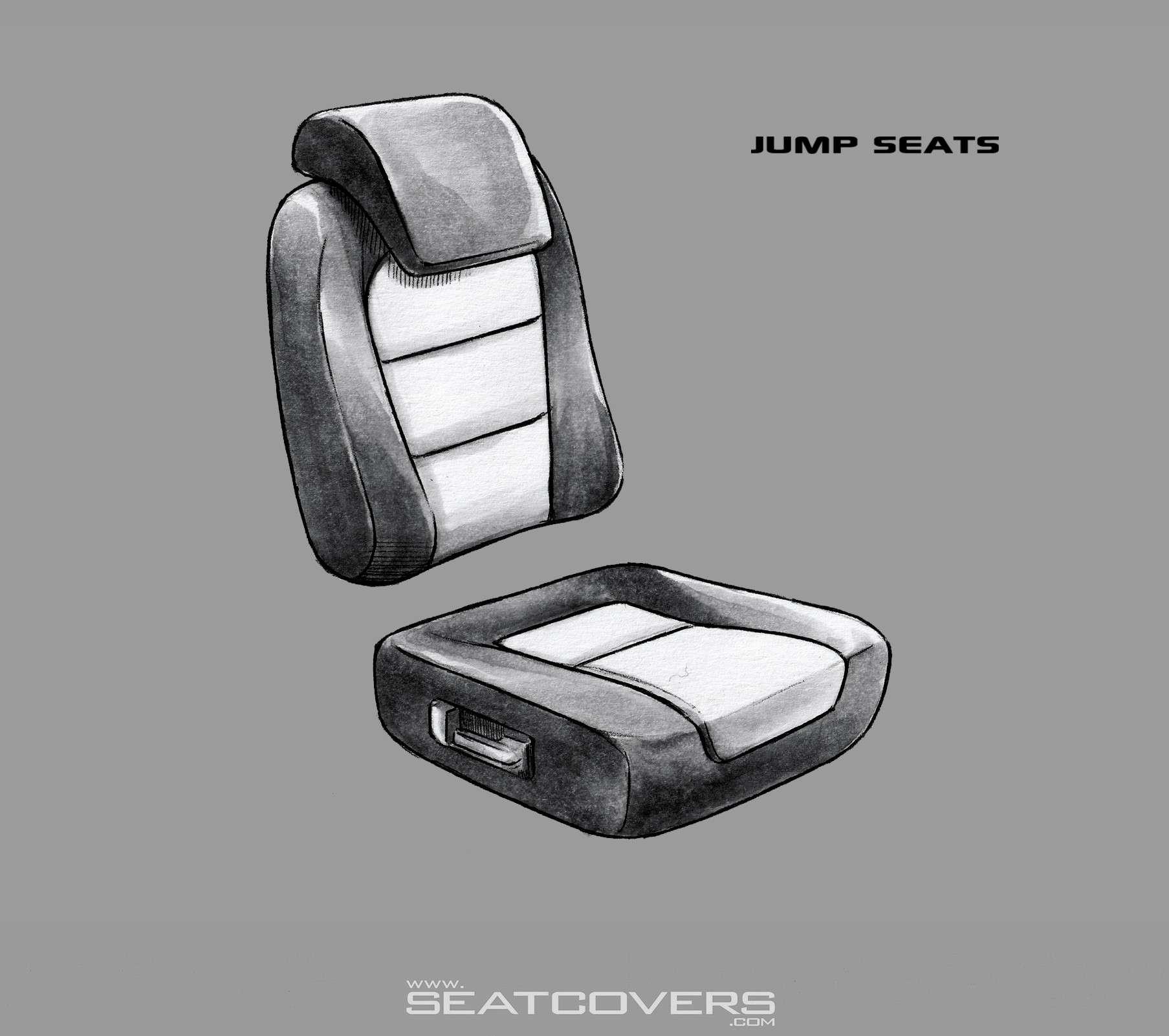 Jump seat rear seats fold down (week 10)