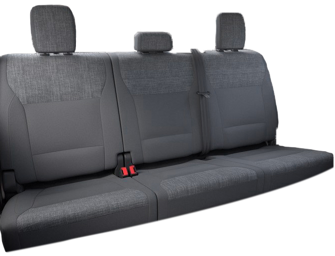 2021+ Ford F150 Rear Seat Covers www.seatcovers.com